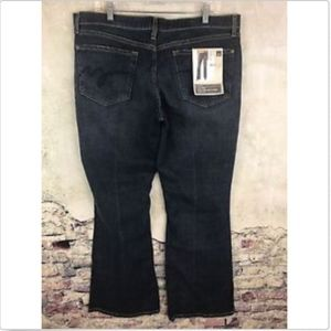 Mossimo Low Rise Bootcut Jeans Distressed Women 18